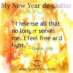 I feel free and light
