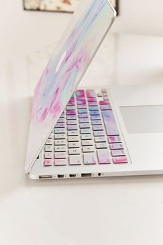 Unicorn Magic Keyboard Cover - Spruce up your laptop with this magical keyboard cover! Just place over the keys on your computer for an instant update. - [ad]