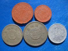 Tomcoins-China republic Man Chou Kuo coins lot