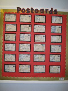 A super World War Two Postcards (Year classroom display photo contribution. Great ideas for your classroom! Class Displays, School Displays, Classroom Displays, Primary Teaching, Teaching Social Studies, Teaching History, Teaching Themes, Primary Maths, Teaching Resources