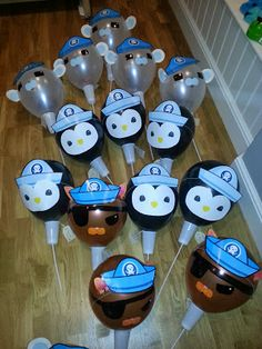 "Octonauts ""pinata' balloons for party favours"