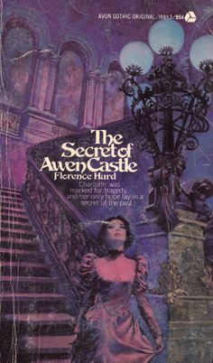 Vintage Classic Paperback Books Gothic Romance Novels Covers Art