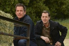 NCIS- McGee & Dinozzo; I love how both of their faces are the exact same!! LOL