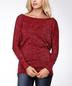 This Ruby Dolman Top is perfect! #zulilyfinds