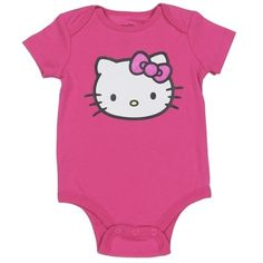 Hello Kitty Pink Infant Creeper. Hello Kitty Baby ClothesToddler ... 38c9df325563a