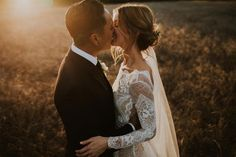 Emily in the INCA gown | Grace Loves Lace