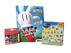 Disney Mickey Mouse & Friends Activity Gift Bundle (ABC Puzzle, Big Fun Coloring Book, and Mickey Mouse Crayons) Disney http://www.amazon.com/dp/B00TZ9ZV7O/ref=cm_sw_r_pi_dp_A3F9ub1EP5QWN