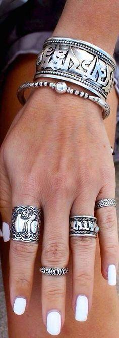 wrist & finger stacks