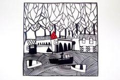 Paper Cut by Caroline Rees