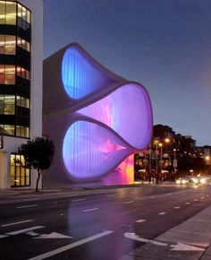 Museum of Performance and Design, architect Mark Dziewulski , San Francisco, California.