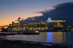 Cozumel a bordo de un crucero por el Caribe