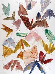 I Love Allyson Reynolds Moth Series Paintings!!!!