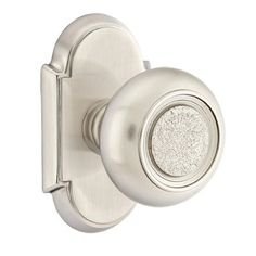 Emtek Belmont Door Knob With #8 Rosette