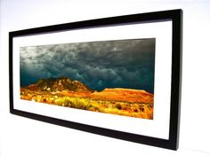 Framed Photography Fine Art Photo Landscape by GatewayAlpha, $109.95