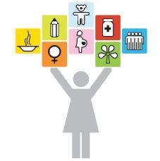 Les progrès envers les OMD pour les femmes et les filles.