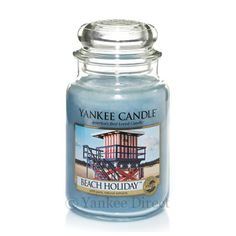 Yankee Candles UK | Yankee Candle Beach Holiday Large Jar
