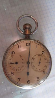 Pocket Watch Russian Made Montre De Poche Russe Durable In Use Motre Mecanique