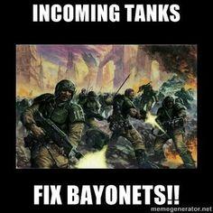 40k Imperial Guard meme
