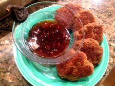 """chickpea """"chicken"""" nuggets: not so great but it was my fault. I didn't have enough soysauce or breadcrumbs, and I was out of paprika. I do think they will need more spice though, maybe some nooch? Next time I'll follow the directions better...and I think they would make awesome """"hot wings""""."""