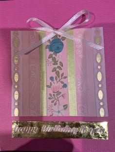 washi tape and ribbon