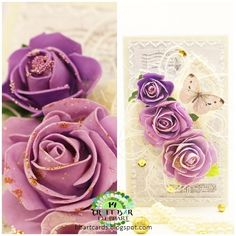Pretty Cards, Stencil, Paper Crafts, Style Inspiration, Bar, Flowers, Cute Cards, Tissue Paper Crafts, Stenciled Table
