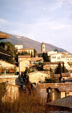 Village of Assisi Italy