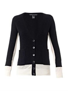 Bella silk and cashmere-blend cardigan | Marc by Marc Jacobs |...