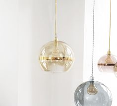 Pendant light, Rowan, gold, - Ebb and Flow. Illuminate your interior with our large selection of design and inspirational lighting. By Nedgis Metal Ceiling, Ceiling Rose, Ceiling Lights, All Of The Lights, Mirror With Lights, Rowan, Home Lighting, Lighting Design, Dream Home Design