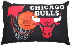 Chicago Bulls Bed Pillow by Sam Salem. $15.64. Chicago sports fan. Comfy comfort bed pillow. NBA. Basketball team pillow. Sleeping well with my bulls pillow. Chicago bulls bed pillow