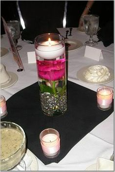 Inexpensive Elegant Banquet Decoration | How to Reuse Glass Vases- Create Works of Art to Compliment Any Decor