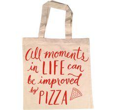 Pizza Shopper Bag