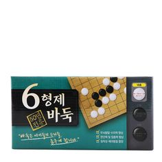 *The actual product package may vary from the images shown on the website* **This item limits 1 per order 6 BROTHERS BADUK Baduk (Go) Set #18 (18mm) Benefits: brain function development, self-aware judgments, concentration, patience A game of Baduk starts with an empty board Each player has an unlimited supply of stone Games To Buy, Patience, Empty, Brain, Brother, Website, Stone, The Brain, Rock