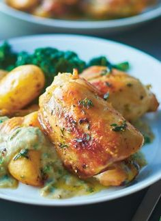 Simple roast chicken recipe from Lorraine Pascale: https://www.mccarthyandstone.co.uk/life-and-living/explore/recipes/simple-roast-chicken/