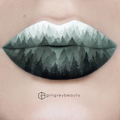 "4,480 Likes, 121 Comments - Andrea || Victoria, BC (@girlgreybeauty) on Instagram: ""#WestCoast #LipArt 2nd try at the lip art turned out much better! I live on Vancouver Island and…"""