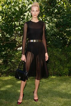 Aymeline Valade - Christian Dior Fall 2015 Couture Front-row - July 6, 2015