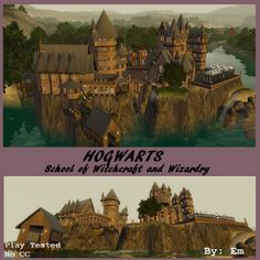 Hogwarts Castle by Spoiledsi11y - The Exchange - Community - The Sims 3
