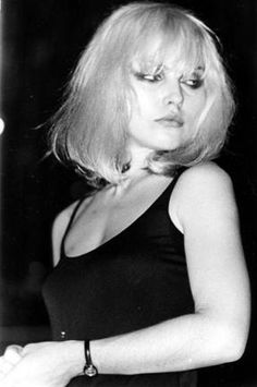photo by Debbie Schow - Debbie Harry = Blondie live