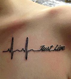 I like the idea but i want my tat to say just breathe