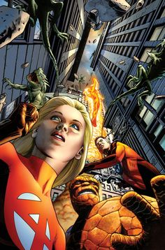 Fantastic Four by J G Jones