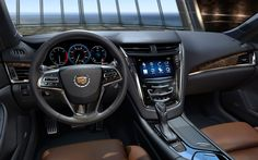 2014 Cadillac CTS dash.  I can't wait to see the CTS Coupe and CTS-V!
