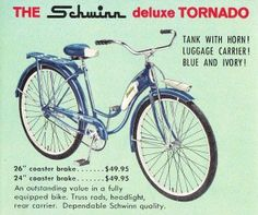 This bike was very similar to the one I used to ride all over the neighborhood.