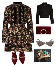 """""""Istambul"""" by obretin-raluca on Polyvore featuring Dodo Bar Or, Michael Kors, Jessica McClintock and Yves Saint Laurent"""