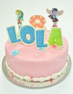 Dulce Silvita: Tarta My Little Pony Humans - Fondant Cake