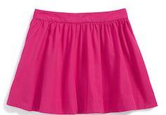 Cute girls pink skirt