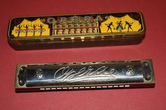 awesome Classic Opera harmonica w/tin case Made in German, US-Zone musical instrument Check more at https://aeoffers.com/product/music-and-instruments/classic-opera-harmonica-wtin-case-made-in-german-us-zone-musical-instrument/