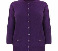 Bhs Purple Supersoft Round Neck Cardigan, purple Thispurple long sleeve button front fastened round neck cardigan is part of our Profile supersoft range. It is an every day essential that can be worn with any outfit, casual or foraml, and is as a v http://www.comparestoreprices.co.uk/mens-clothing-accessories/bhs-purple-supersoft-round-neck-cardigan-purple.asp