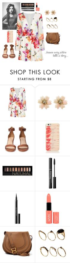 """""""tell me a story"""" by thepearllesswonder ❤ liked on Polyvore featuring Kate Spade, Forever 21, Trish McEvoy, Givenchy, NYX, Chloé and ASOS"""