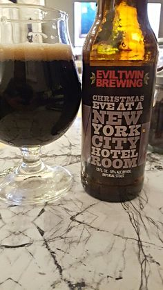 Evil Twin Christmas Eve at a New York City Hotel Room 2015 - Evil Twin Brewing
