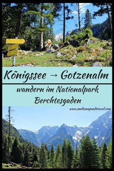 Hike to the Gotzenalm in the Berchtesgaden National Park - Gifts For Love Hiking Germany, Germany Travel, All Nature, Closer To Nature, National Park Gifts, Reisen In Europa, World Pictures, Nature Adventure, Vacation Destinations