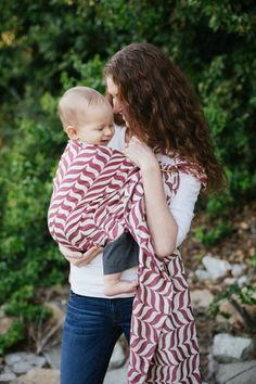 Migaloo Wrap Conversion Ring Sling - Passion